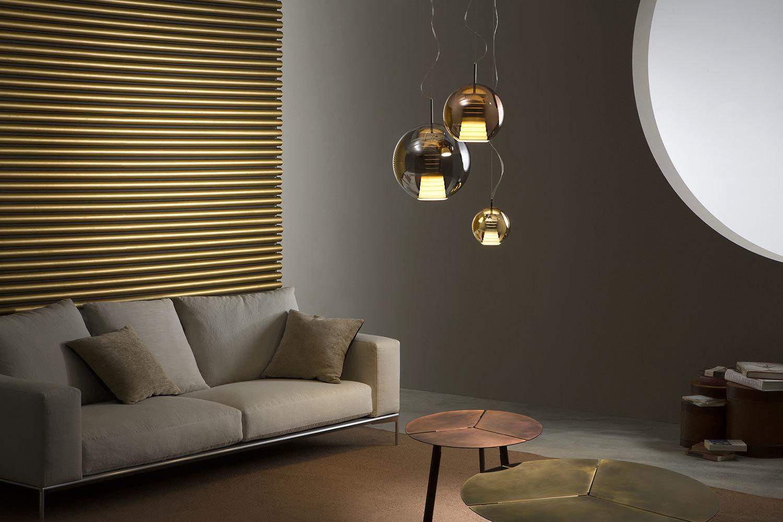 Hanging lamp FABBIAN Beluga Royal BRONZE D57A5141 (SMALL - 20cm)