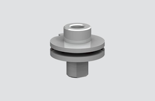 ALU M10 connector for adapters 9009 and S-9000 / M, STUCCHI busbars
