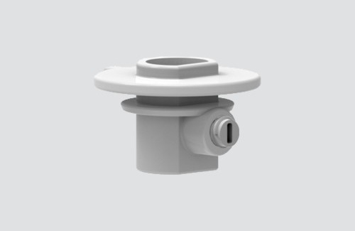 Plastic coupling with locking screw for adapters 9009, STUCCHI busbars
