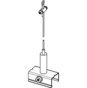 BASIC suspension set with handle, length 5000 mm, STUCCHI small 1
