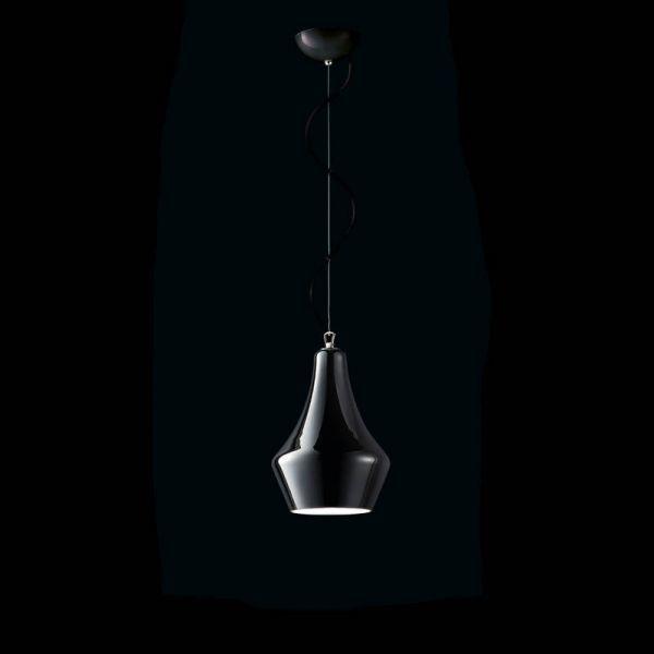 MuranoDue Alma S30 pendant lamp, black