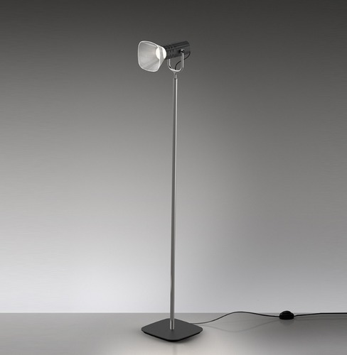 Artemide FIAMMA floor reading lamp, black