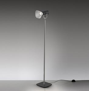 Artemide FIAMMA floor reading lamp, black small 0