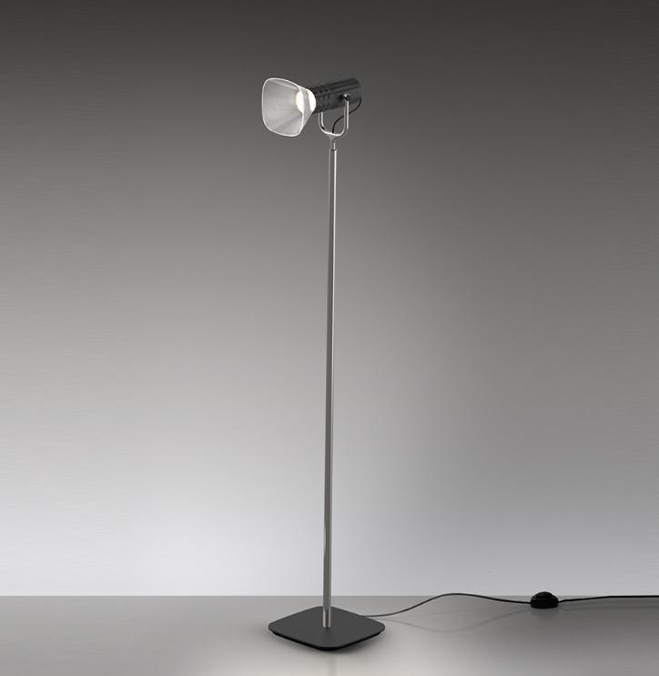 Artemide FIAMMA floor reading lamp, black