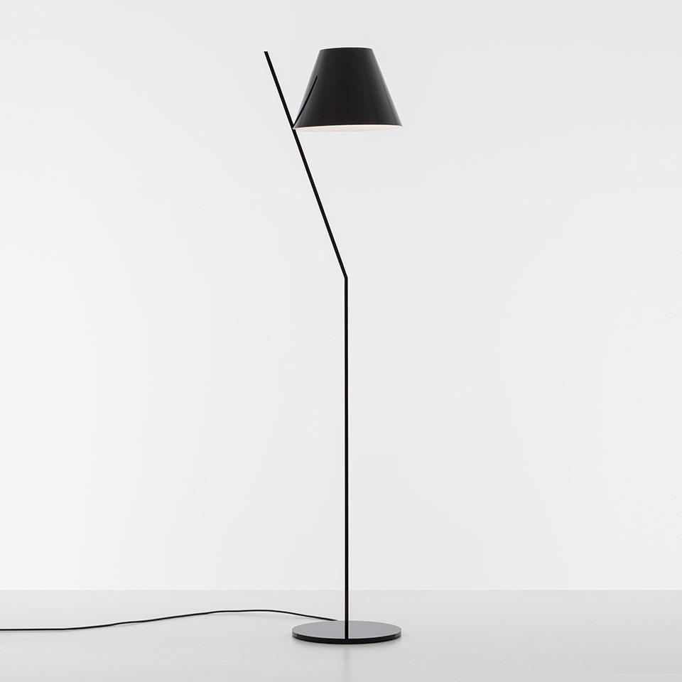 LA PETITE floor lamp, black