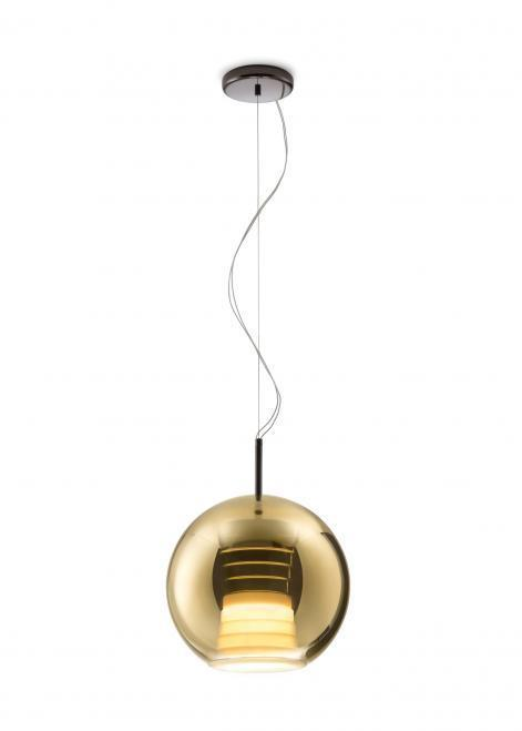 Hanging lamp FABBIAN Beluga ROYAL Gold D57A5312 (AVERAGE - 30cm)