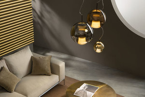 Hanging lamp FABBIAN Beluga ROYAL Brown D57A5341 (AVERAGE - 30cm) small 3