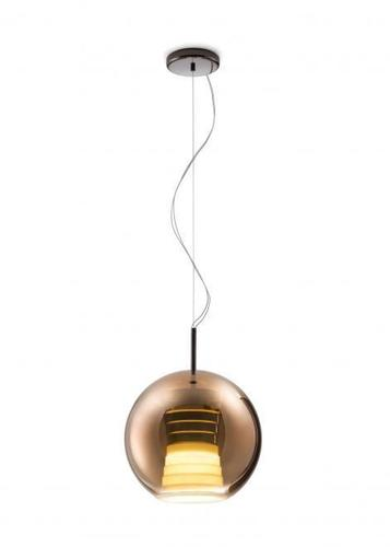 Hanging lamp FABBIAN Beluga ROYAL Brown D57A5341 (AVERAGE - 30cm)
