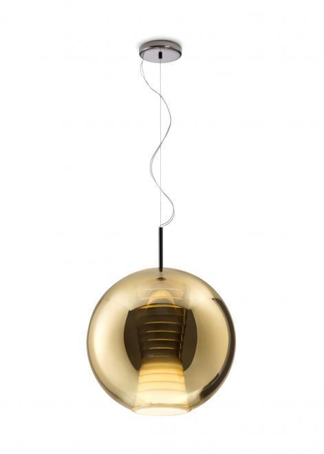 Hanging lamp FABBIAN Beluga ROYAL GOLD D57A5512 (LARGE - 40cm)