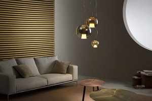 Hanging lamp FABBIAN Beluga ROYAL BROWN D57A5541 (LARGE - 40cm) small 2