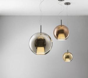 Hanging lamp FABBIAN Beluga ROYAL BROWN D57A5541 (LARGE - 40cm) small 4