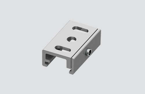 Ceiling bracket, STUCCHI busbars, aluminum, white, black