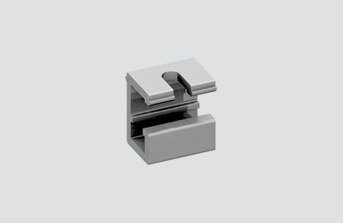 Ceiling bracket for suspensions, STUCCHI busbars, aluminum
