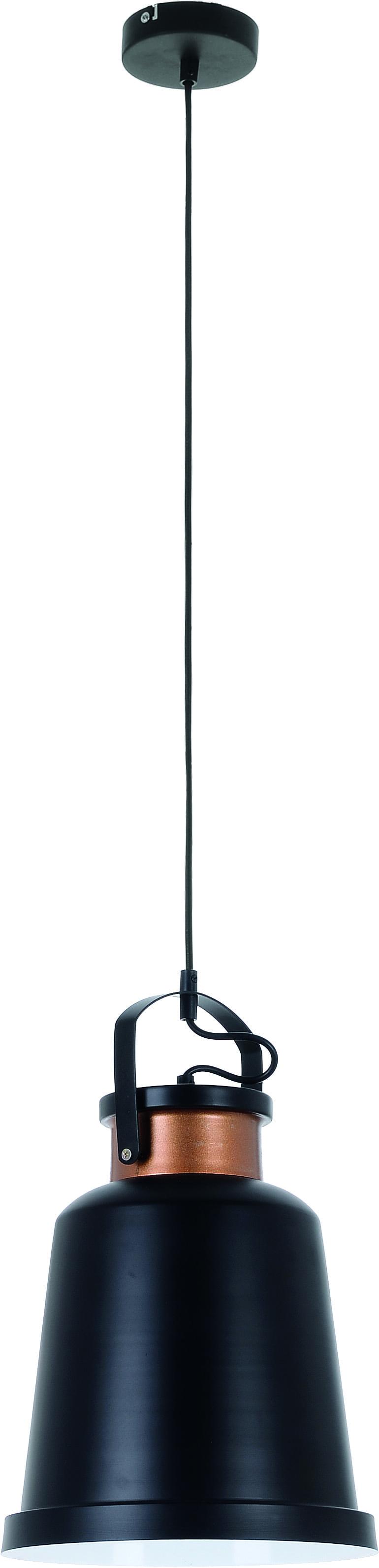 Black Herman vintage pendant lamp