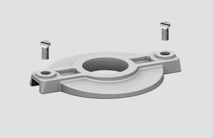 Lock cover S-9209-BD-xx, STUCCHI busbars, polycarbonate, white, black small 0
