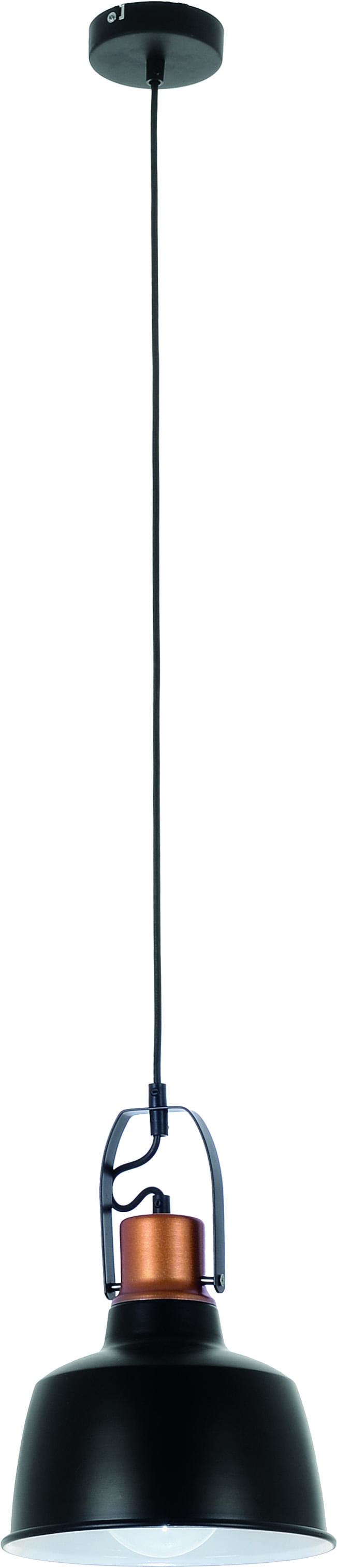 Herman ceiling lamp in black