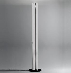 Lampa podłogowa Artemide MEGARON srebrna