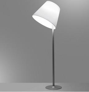 Floor lamp Artemide MELAMPO Mega gray aluminum small 0
