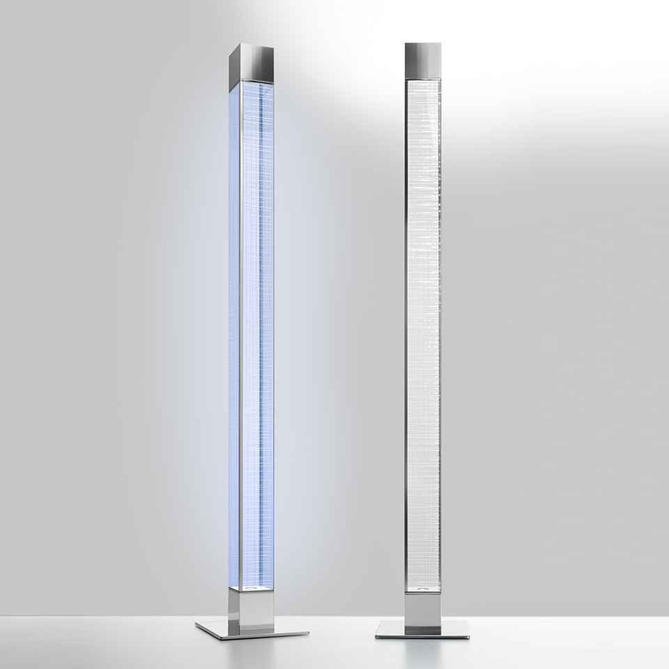Floor lamp Artemide MIMESI transparent structure