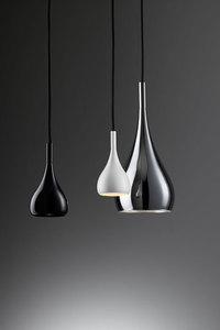 Hanging lamp FABBIAN Bijou BLACK D75A0502 (LARGE - 16cm) small 4