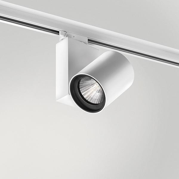 KOR Quattrobot spotlight aluminum 32W 3000K CRI 93 compatible with Stucchi trunks