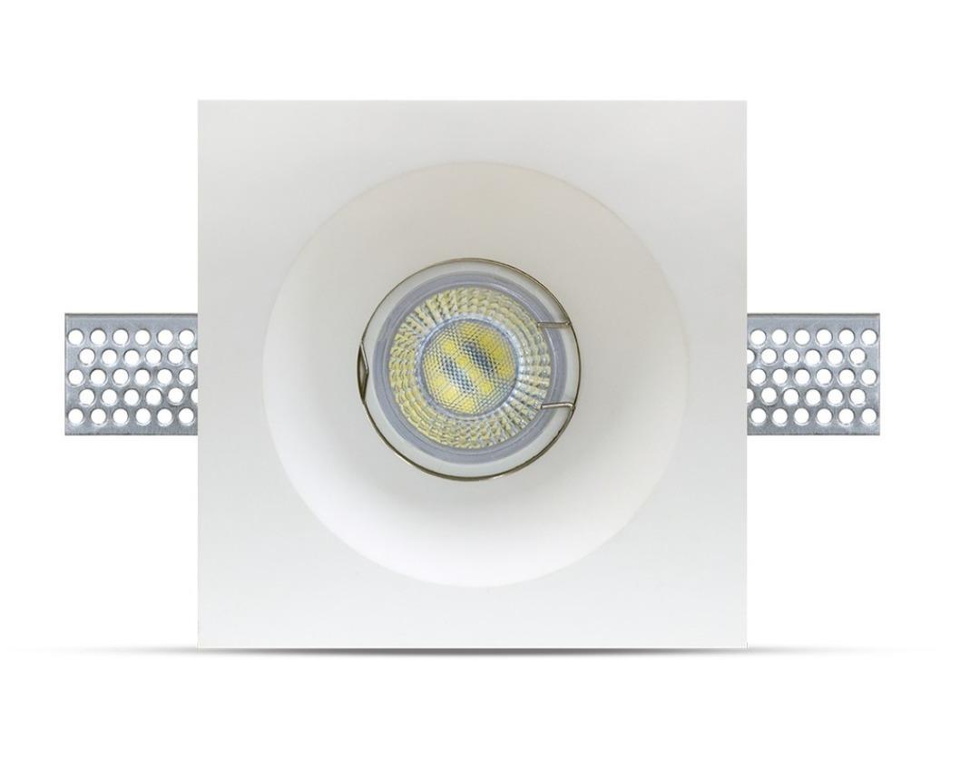 GYPSUM GU10 plaster fixture