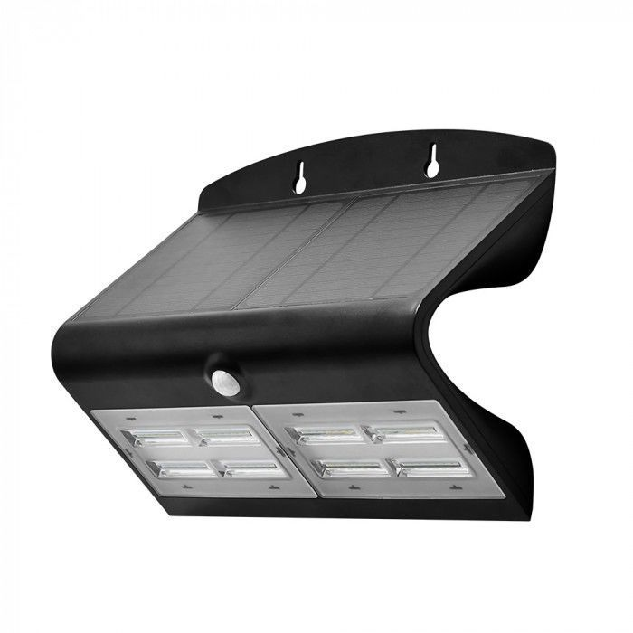 Solar LED wall lamp SOLAIRE double with motion and twilight sensor