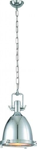 Hanging lamp Trinity Chromowana on Chain