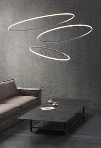 Hanging lamp Fabbian Olympic F45 45W 60.2cm 3000K - White - F45A0701 small 7