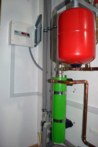 2.5 kw induction boilers for heating the area of 50m² small 2