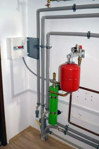 Induction boiler 3.0 kw for heating the area of 60m²