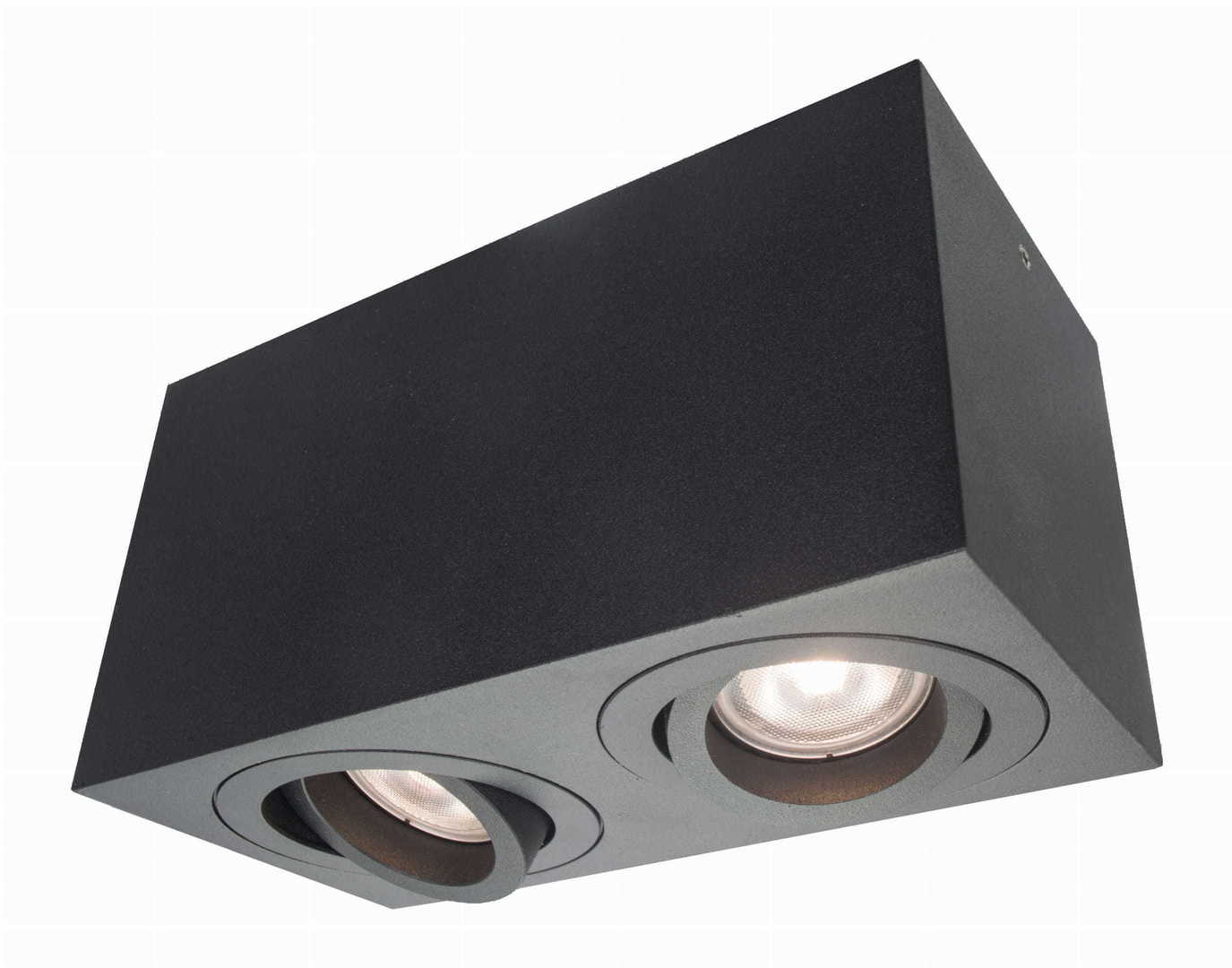 Lyon 2 surface mounted black