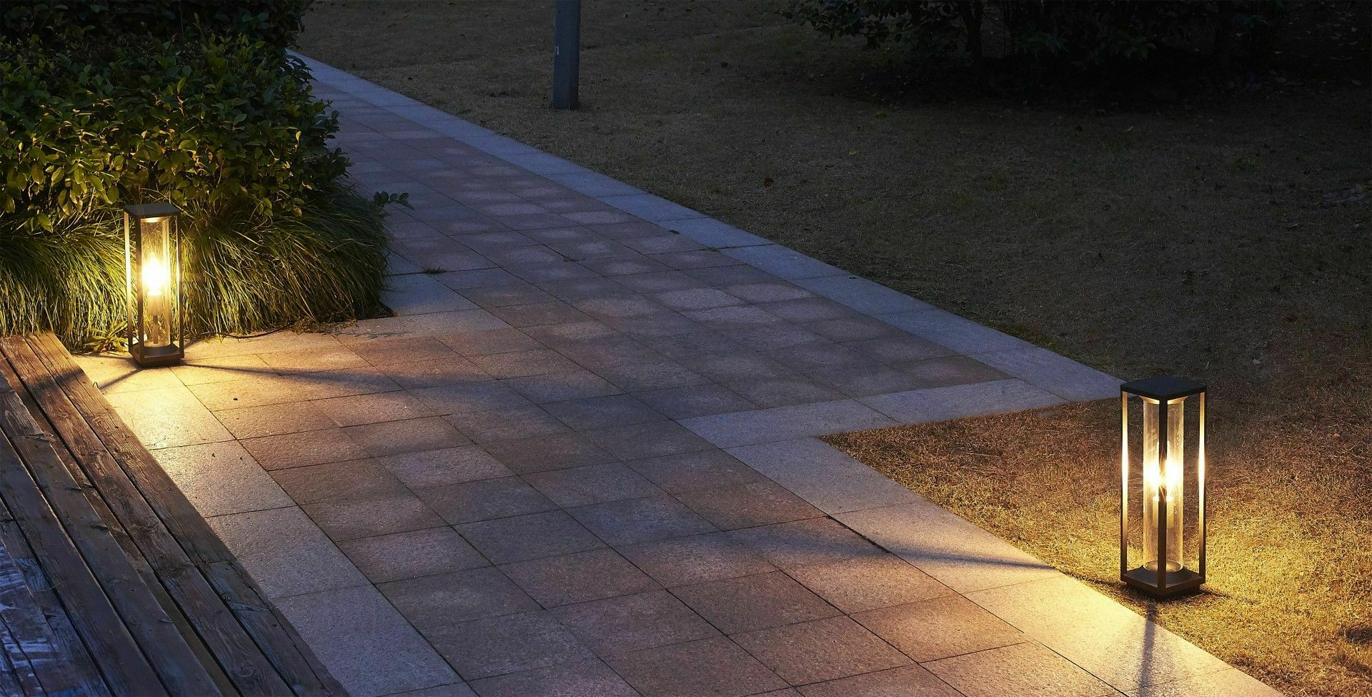 Porto garden floor lamp 50cm + LED filament bulb