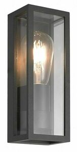 Porto outdoor wall sconce + LED filament bulb small 0