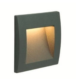 MUR LED built-in outdoor lamp, dark gray small 2