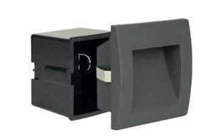 MUR LED built-in outdoor lamp, dark gray small 0