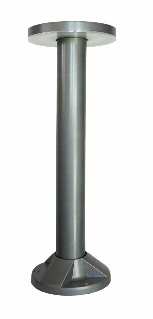 Rondo garden post LED 45cm, gray