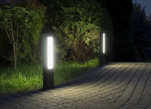 Outdoor floor lamp EVO LED 50cm, dark gray small 2