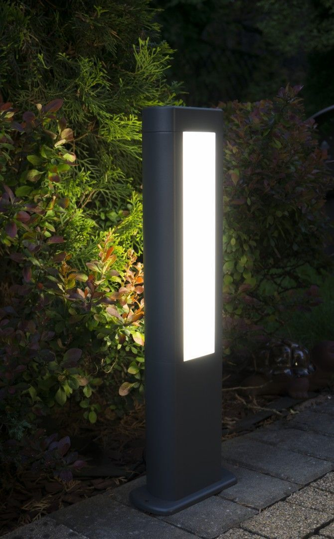 Outdoor floor lamp EVO LED 50cm, dark gray