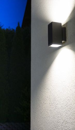 Outdoor wall lamp ADELA MIDI M1460 DG, dark gray