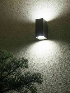 Outdoor wall lamp MINI 5002 BR, brushed aluminum small 2