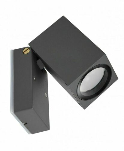 Adjustable outdoor wall light MINI 5005 DG, dark gray