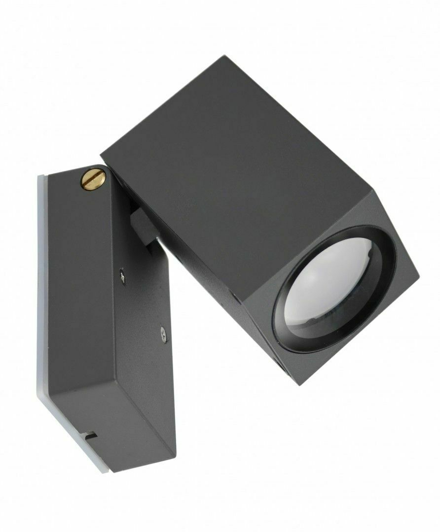Adjustable outdoor wall light MINI 5005 DG, dark gray