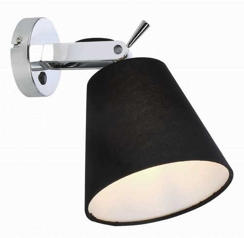 Bali wall lamp black