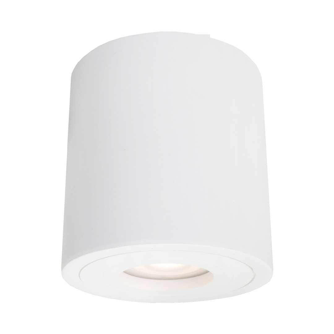 Faro XL surface-mounted white fitting with IP44