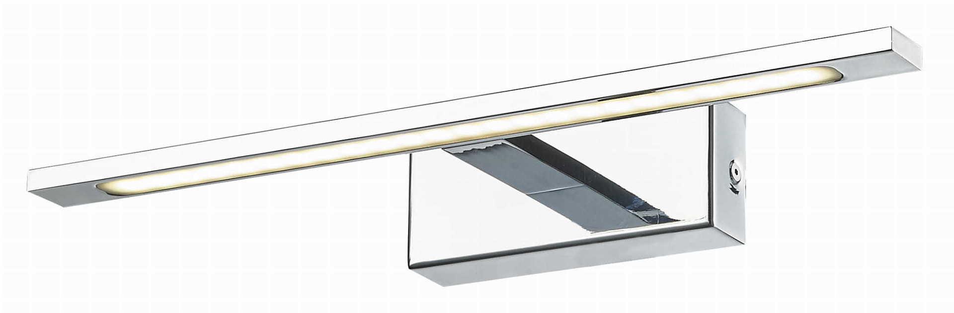 Isla mirror wall lamp, chrome IP44