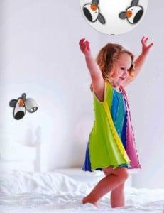 Lamp for child Piesek - wall lamp Doggy biały / chrom 50W GU10 small 1