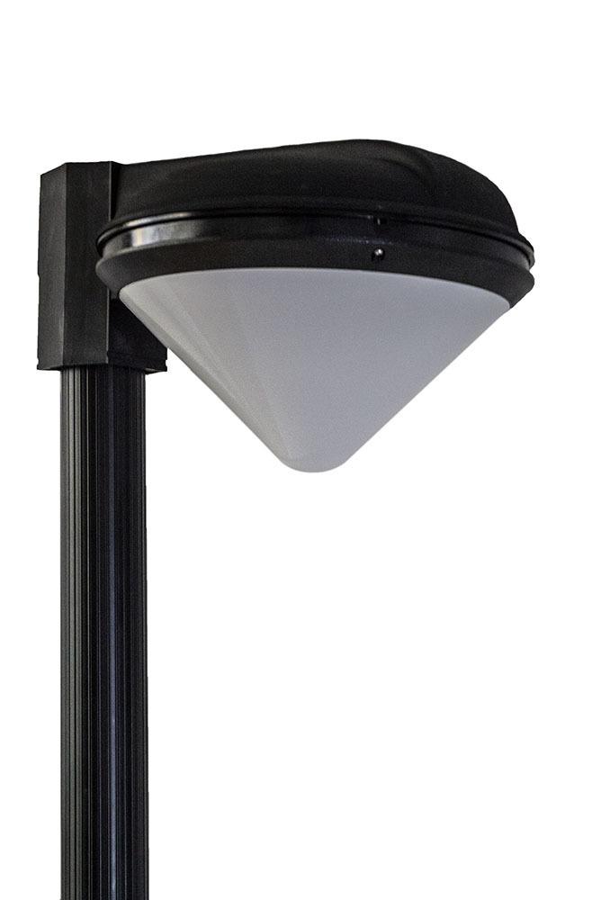Luna Clessidra garden lamp IP65 E27 black garden wall lamp or garden standing lamp