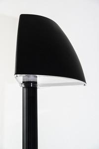 Garden lantern Luna Cefalu E27 200 cm black anthracite small 3