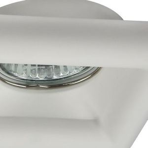 Recessed ceiling luminaire Maytoni Gyps Modern DL007-1-01-W small 0